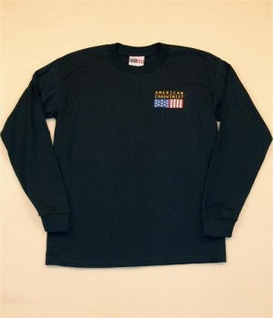 MEN'S LONG SLEEVE T-SHIRTS (SMALL LOGO)